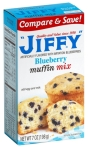 Jiffy Mixes: Blueberry Muffin Mix