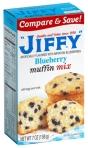 Jiffy Mixes: Blueberry Muffin Mix