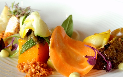 A photo of the carrot dish