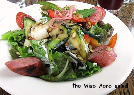 A photo of the Wise Acre salad
