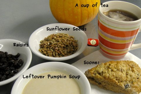 A photo of the Scones and Ingredients