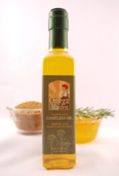 A photo of Camelina oil