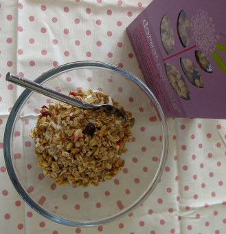 A photo of the granola