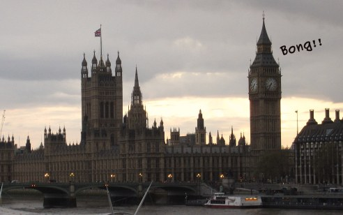 A photo of London