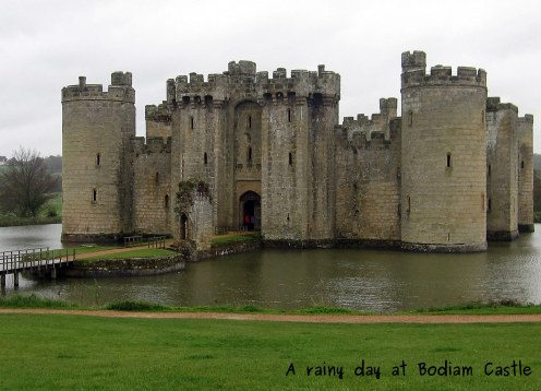 A photo of Bodiam Castle