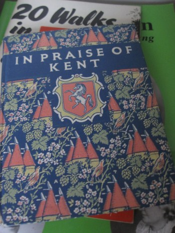 A photo of a book about Kent