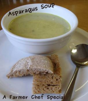 A photo of asparagus soup