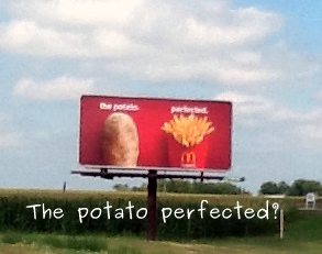 Link to picture of McDonald's Billboard