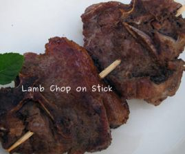 Photo of Lamb Chop on Stick
