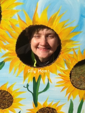 Photo of silly mom