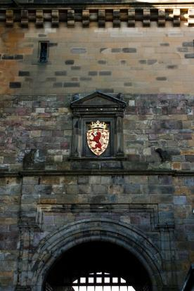 Photo of Gate at Edinburgh Castle