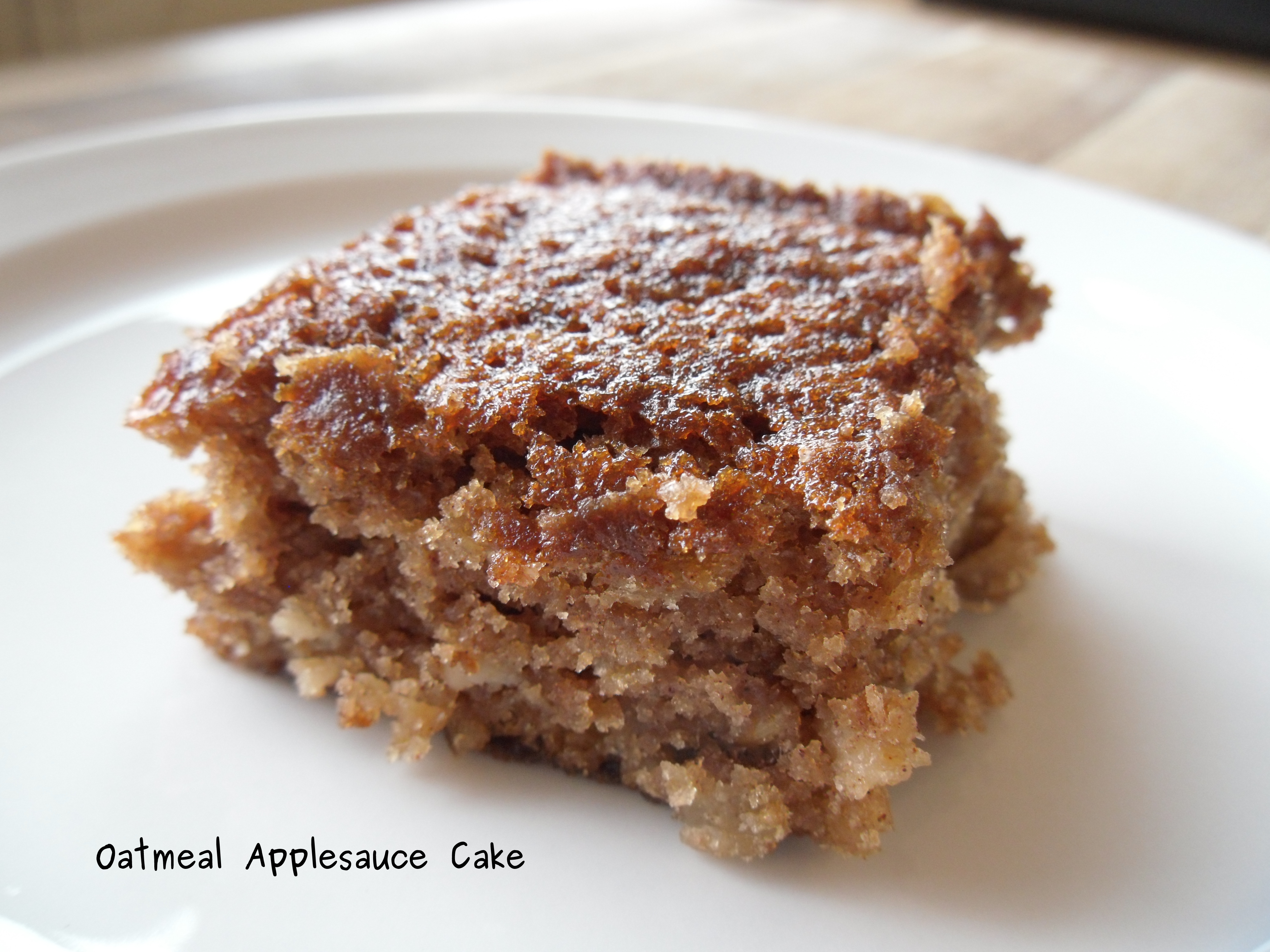 Oatmeal-Applesauce Cake Oatmeal-Applesauce Cake new photo