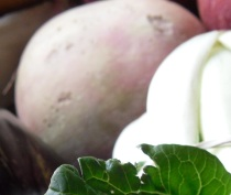 Photo of watermelon radish