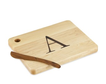 Photo of Monogram Cheese Board