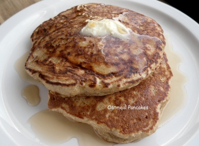 Photo of Oatmeal Apple Pancakes