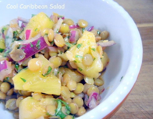 Photo of Cool Caribbean Salad